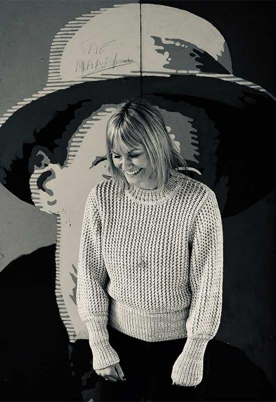 Photograph Of Illustrator Sarah Rossney