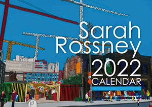 Image of the Sarah Rossney 2021 Calendar Cover